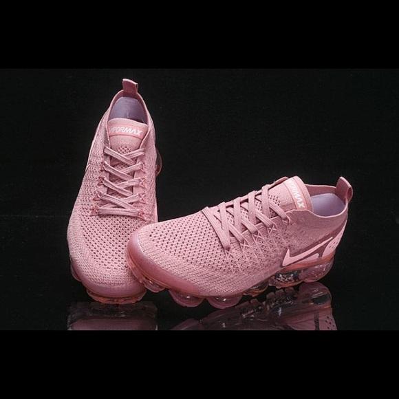 rust pink vapormax flyknit 2